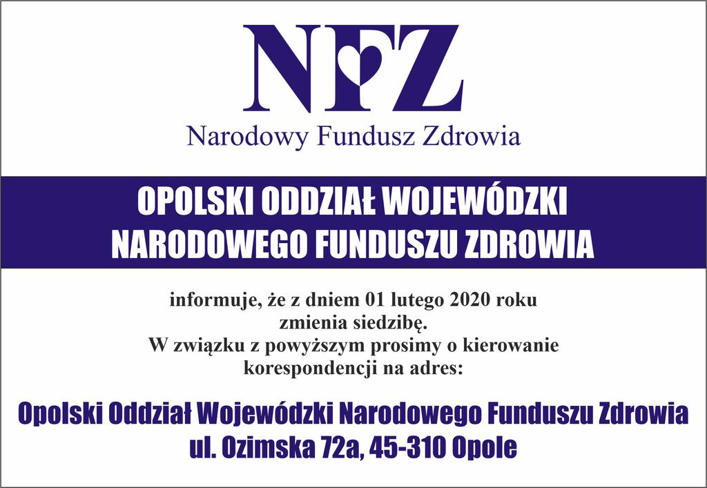 NFZ Opole zmiana siedziby.jpeg