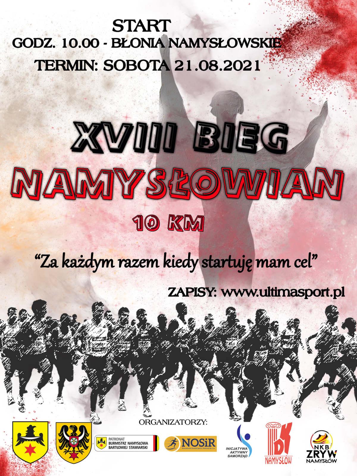 Plakat XVIII Bieg Namysłowian.jpeg