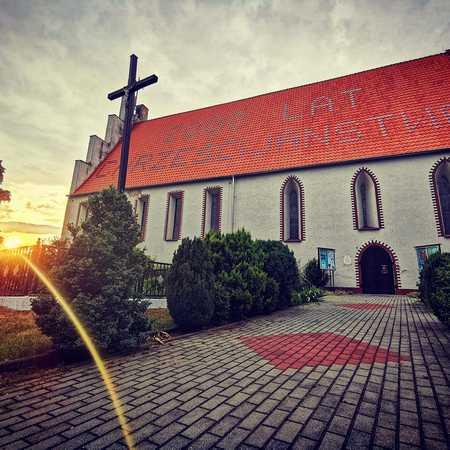 Kościół pw. św. Mikołaja w Wilkowie - gmina Wilków, powiat namysłowski (fot. Barbara Jarmuszewska)