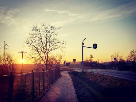Domaszowice - Zachód Słońca (fot. Barbara Jarmuszewska)