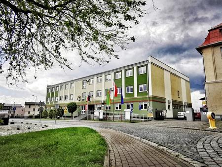 Budynek Starostwa Powiatowego w Namysłowie (fot. Barbara Jarmuszewska)
