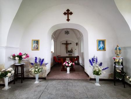 Kaplica św. Trójcy w Namysłowie (ul. Oleśnicka), gmina Namysłów, powiat namysłowski (fot. Barbara Jarmuszewska)