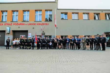 Galeria 75-lecie powstania Ochotniczej Straży Pożarnej w Ligocie Książęcej