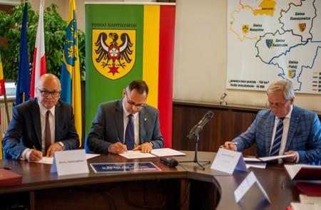 Galeria Zarawcie umów o dofinansowanie w ramach Rządowego Funduszu Rozwoju Dróg
