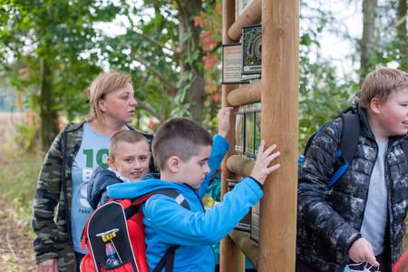 Galeria Uczniowie ZSS w Stobrawskim Parku Krajobrazowym