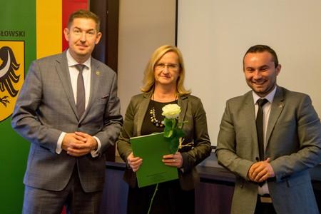 Pani Dorota Surmańska (w środku)- Dyrektor Poradni Psychologiczno-Pedagogicznej
